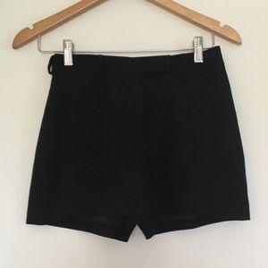 Vintage Bebe Fully Lined Black Dress Shorts